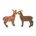 Westland Giftware -  Doe and Deer Kissing Salt and Pepper Shakers 0748787939280