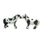 Westland Giftware -  Shetland Ponies Couple Salt & Pepper Shaker S/P 0748787939341