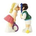 Westland Giftware -  Westland Giftware Mwah Tennis Couple Salt & Pepper Shakers Set 0748787939525