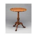 Antique Reproductions, Inc. -  Lamp Accent Table in Cherry 0750457002842