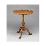 Antique Reproductions, Inc. -  Lamp Accent Table in Honey 0750457002866