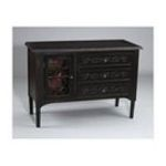 Antique Reproductions, Inc. -  Chest in Distressed Black 0750457003825
