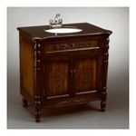 Antique Reproductions, Inc. -  AA Importing | AA Importing 46425 Cabinet Sink in Antique Brown 0750457012988