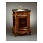 Antique Reproductions, Inc. -  AA Importing | Antique Style Vanity in Medium Brown 0750457013138