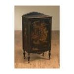 Antique Reproductions, Inc. -  Two Door Oriental Cabinet in Black 0750457023496
