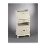 Antique Reproductions, Inc. -  Secretary Desk - Finish: Grey/White 0750457025940