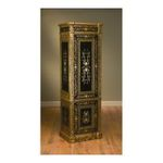 Antique Reproductions, Inc. -  Cabinet in Black/Gold 0750457036786