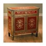 Antique Reproductions, Inc. -  Chest in Red/Gold 0750457036816