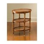 Antique Reproductions, Inc. -  Three Shelf Table in Medium Brown 0750457041803