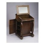 Antique Reproductions, Inc. -  AA Importing | AA Importing Two Door Jewelry Cabinet in Dark Brown 49001 0750457061528