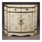 Antique Reproductions, Inc. -  AA Importing | AA Importing Cabinet in Antique Ivory 45642 0750457076607