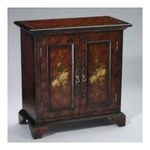 Antique Reproductions, Inc. -  AA Importing | AA Importing Cabinet in Black/Brown 80038 0750457076973