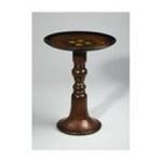 Antique Reproductions, Inc. -  Round Table in Dark Wood 0750457077000