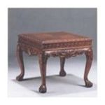 Antique Reproductions, Inc. -  End Table in Red/Mahogany 0750457384085