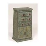 Antique Reproductions, Inc. -  Three Drawer Metal Cabinet 0750457393032