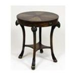 Antique Reproductions, Inc. -  Lamp Table in Medium Brown 0750457406725