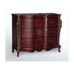 Antique Reproductions, Inc. -  Three Drawer Hall Chest in Antique Red 0750457450117