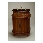 Antique Reproductions, Inc. -  AA Importing | Berry Style Bathroom Vanity with Black Sink in Medium Brown 0750457453880