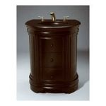 "Antique Reproductions, Inc. -  AA Importing | AA Importing 45405 29"" Vanity with Sink in Black 0750457454054"