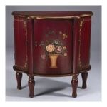 Antique Reproductions, Inc. -  Cabinet in Antique Red 0750457456256