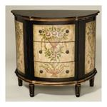 Antique Reproductions, Inc. -  Cabinet in Dark and Light Brown 0750457456263