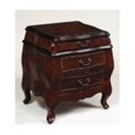 Antique Reproductions, Inc. -  Chest in Dark Brown Crackle 0750457457284