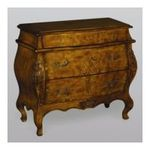 Antique Reproductions, Inc. -  AA Importing | AA Importing Bombe Chest in Medium Brown 45821 0750457458212