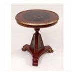 Antique Reproductions, Inc. -  Tilt Top Table in Black and Red 0750457463414
