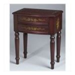 Antique Reproductions, Inc. -  Lamp Table in Red 0750457471655