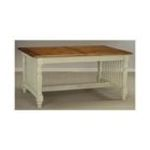 Antique Reproductions, Inc. -  Cottage Dining Table with Antique Ivory Base 0750457477459