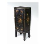 Antique Reproductions, Inc. -  AA Importing | AA Importing Six Drawer Jewelry Armoire in Black 47801 0750457478012