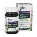 Gaia Health Care -  Echinacea Supreme Liquid Phyto Capsules 30 vegetarian capsule 0751063395014