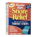 GlaxoSmithKline - Snore Relief Throat Strips 30 in each 0757145004331  / UPC 757145004331