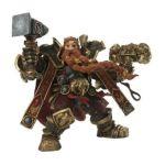 DC Direct -  World Of Warcraft Series 6 Dwarven King Action Figure 0761941285078