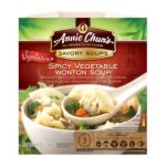 Annie chun's - Spicy Vegetable Wonton Soup Bowl 0765667160305  / UPC 765667160305