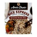 Annie chun's - Rice Express Sprouted Brown Rice 0765667400203  / UPC 765667400203