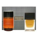 Gucci - Pour Homme Set Includes Eau De Toilette Spray + All Over Shampoo 0766124064532  / UPC 766124064532
