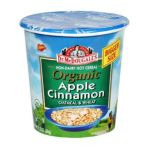 Dr. Mc Dougall -  Non-dairy Hot Cereal Organic Apple Cinnamon Oatmeal & Wheat Cups 0767335000074