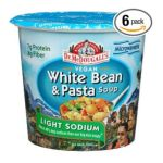 Dr. Mc Dougall -  Dr. Mcdougall's Right Foods Vegan White Bean & Pasta Soup Light Sodium Cups 0767335000852