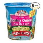 Dr. Mc Dougall -  Dr. Mcdougall's Right Foods Vegan Spring Onion Noodle Soup Cups 0767335011131