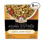 Dr. Mc Dougall -  Asian Entree Lentil Curry Pilaf 0767335020072