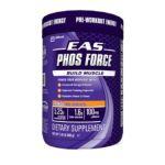 EAS -  Phos Force Pre-workout Energy Build Muscle Orange 1.45 lb 0791083622615