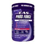EAS -  Phos Force Pre-workout Energy Build Muscle Fruit Punch 1.45 lb 0791083622639