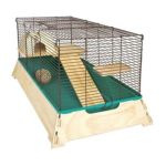 Ware Manufacturing -  Natural Wood Hamster Cage 02306 0791611023068