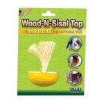 Ware Manufacturing -  Wood N Sisal Top Toy 0791611032428