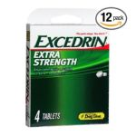 Excedrin -  97102 Excedrin Extra Strength Pain Reliever 4 tablet 0792554702119