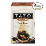 Tazo - Well-being Focus Black Tea 16 Filterbags 0794522215201  / UPC 794522215201