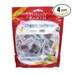 Yummy Earth -  Organic Lollipops Gluten Free Tooberry Blueberry 1 lb 0810165010574