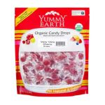 Yummy Earth -  Lollipop Organic Very Cherry Strawberry Smash Tooberry Blue 1 Lb 1 lb 0810165010635