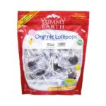 Yummy Earth -  Organic Lollipops Googly Grape 0810165010840